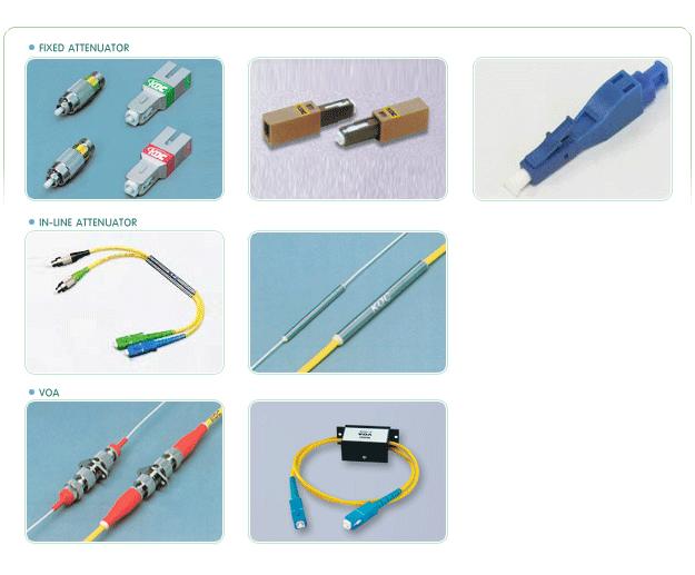 구매하기 고정 감쇄기, 가변 광 감쇄기 ,Inline 감쇄기 & 감쇄 패치코드