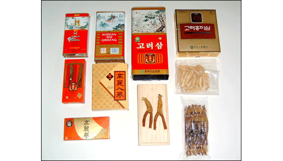 구매하기 Korean ginseng root products