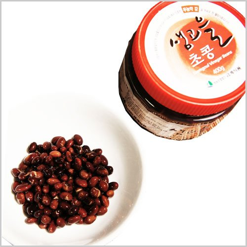 구매하기 샘고을 초콩 400g X 1병 / 유기농감 감식초와 국산 쥐눈이콩 사용