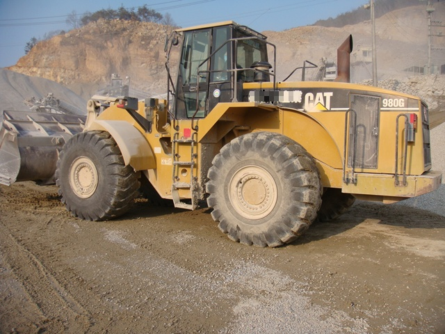 캐터필라 980G 휠 로더 / Caterpillar 980G wheel loader