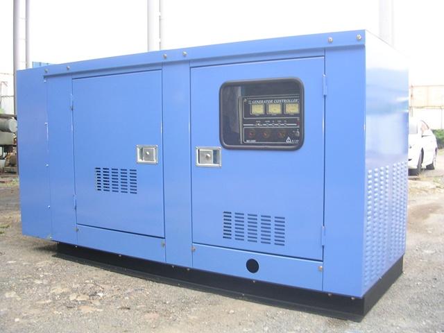 두산 75KVA 방음형 발전기