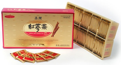 고려홍삼차 / Korean red ginseng tea