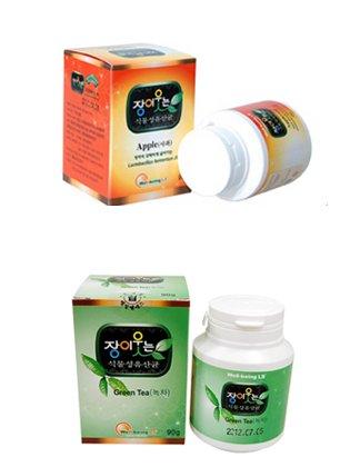 구매하기 장이 웃는 식물성 유산균 사가맛 / 녹차맛