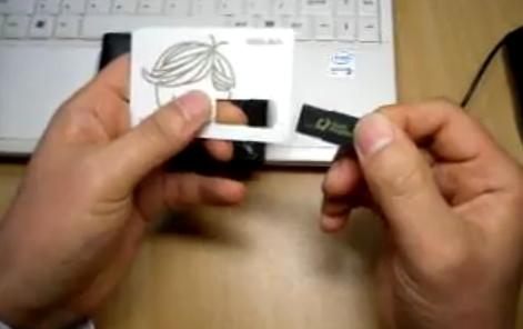 구매하기 카드 / 신용카드형 USB 메모리