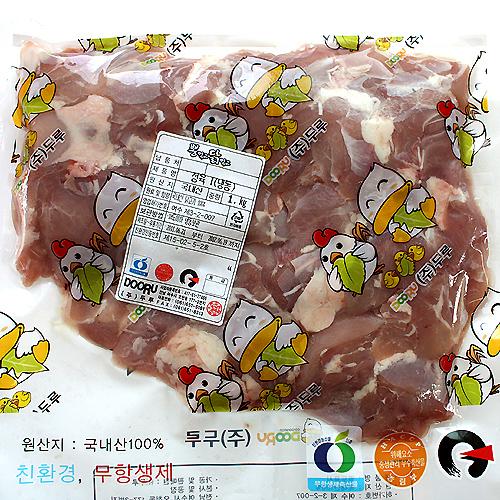구매하기 친환경인증 뽕먹은 닭정육(다리살) 800gx3팩