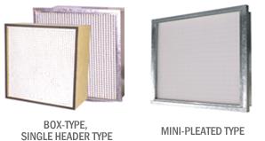 구매하기 에어 필터/MIDIUM FILTER (BOX TYPE, SINGLE HEADER TYPE)
