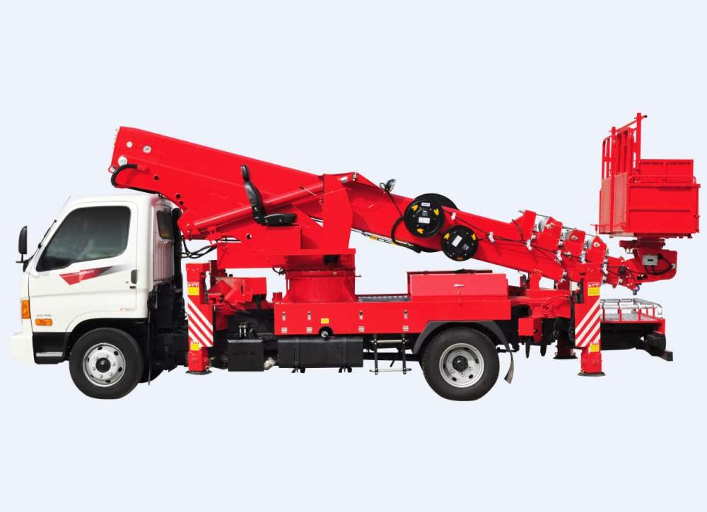 Aerial Lift Truck Horyong Sky 280N South Korea