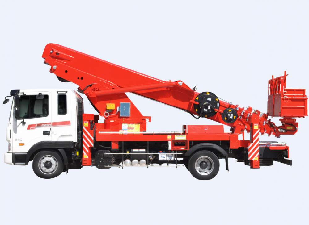 Aerial Lift Truck Horyong Sky 360 South Korea