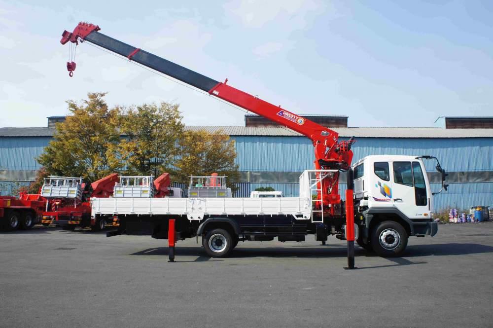 구매하기 Cargo Crane Horyong HRS217 South Korea