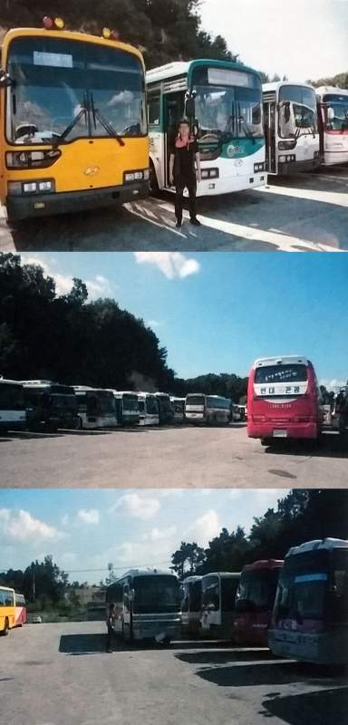 구매하기 Korean-made Used Buses