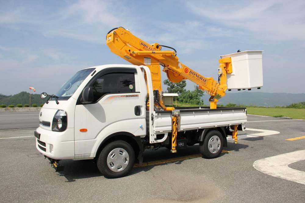 구매하기 Автовышка Donghae DHS15AP_14.5 метров