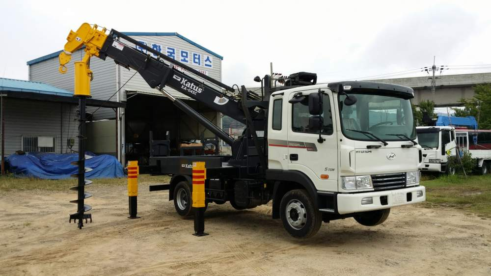 구매하기 Auger Crane Katus KA-045C+ Hyundai HD120