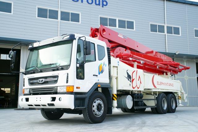 구매하기 Boom concrete pump car Elephant 40RX4
