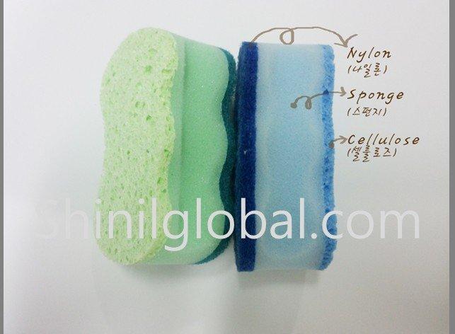 구매하기 Cellulose Scouring pad Sponge 4