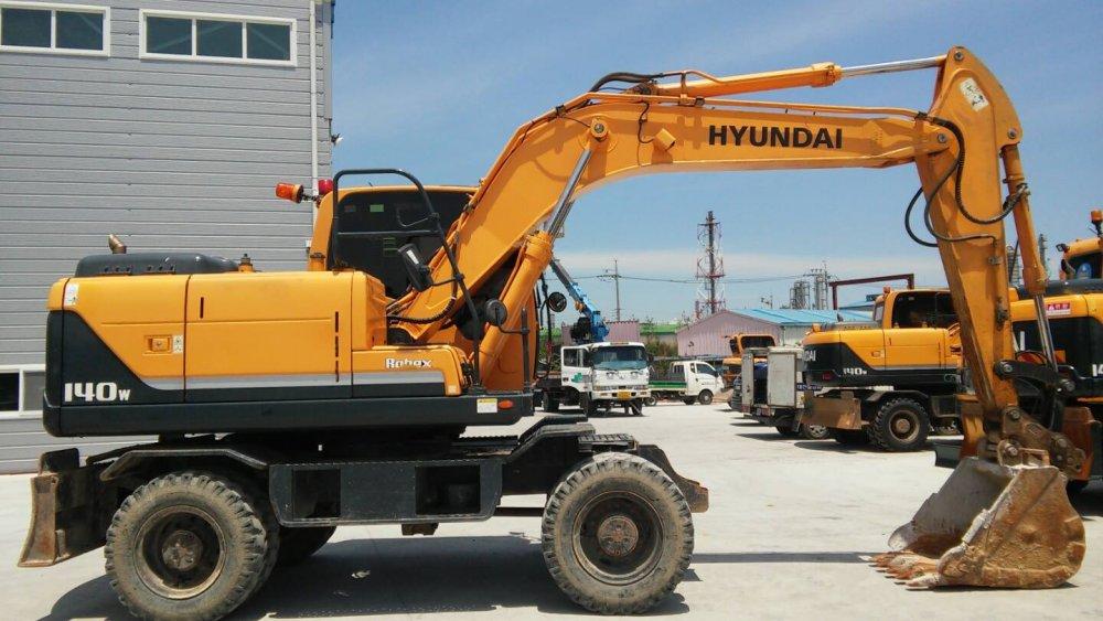 구매하기 Экскаватор HYUNDAI -R140WH