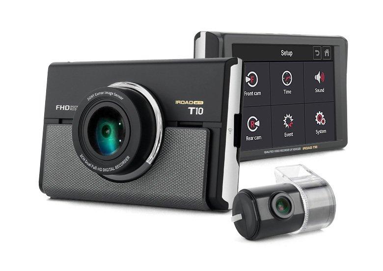 구매하기 IROAD T10 Wifi-LCD FullHD 2CH Dash Camera 16G, 24H, Sensor, Korea