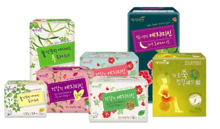 구매하기 Women Sanitary Pad, Made in Korea, Clear and Pure Feeling, Wholesale