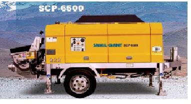 구매하기 Scp6500 stationary pump (samil concrete pump car)