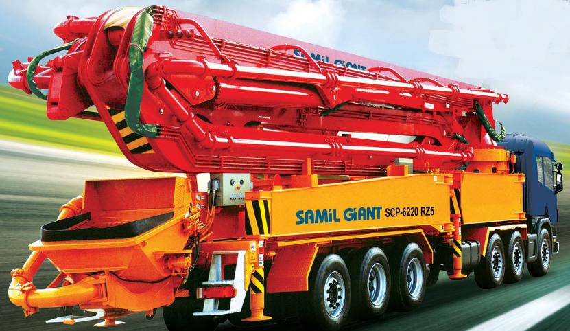구매하기 SCP-625RZ (samil concrete pump car)
