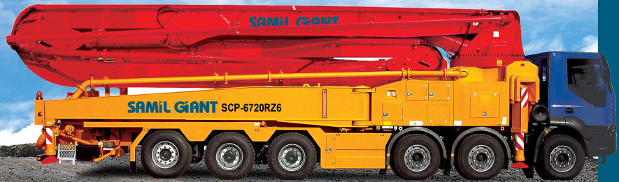 구매하기 SCP-676RZ (samil concrete pump car)