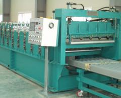Roll forming machines to produce various profiles