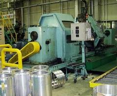 Flow forming machine