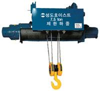 Monorail type hoist
