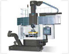 Rotary-revolving machine tools