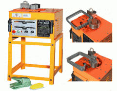 The equipment for armatures flexible