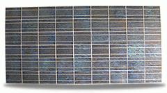 다결정 모인 태양광 모듈 / Poly-cristalline solar module