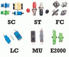 Fiber Optic Adapters,  SC | ST | FC | LC | MU |