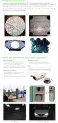 LPR system and security CCTV camera light