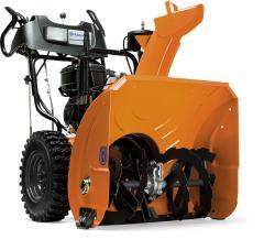 Domestic snow-plough