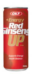 Red ginseng energy drinks