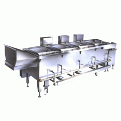 Equipment clesning for food industry