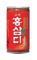 고려 홍삼디 / Korean red ginseng D 175ml can
