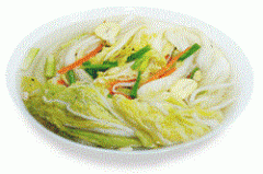 Salt cabbage