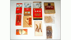 Korean ginseng root products
