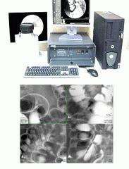 Fluorographic equipment