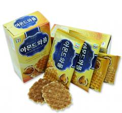 Wafers with filling