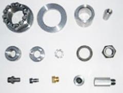 Castle nut / bush / pin / washer / plug / ring nut