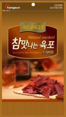 참맛 나는 육포 순한 훈제 맛