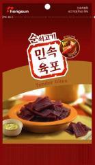 민속 우육포 매운 맛