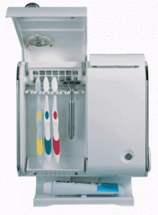 Toothbrush sterilizers