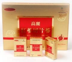 고려홍삼절편삼 / Sliced korean red ginseng