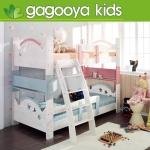 2층어린이 침대, 키즈 4 이쁜 아이방 꾸미기 2층 원목 침대
