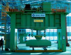 Hydraulic portal press
