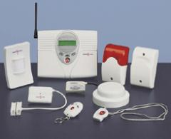 Wireless security sensors