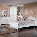 침대세트, FM디자인 화이트 침대+와이드체스트 세트 (퀸)