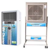Industrial air cleaners